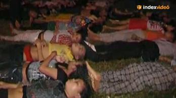 Több száz ember halt meg a pánik miatt Kambodzsában
