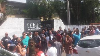Legalább tízen meghaltak egy brazilíiai iskolai lövöldözésben