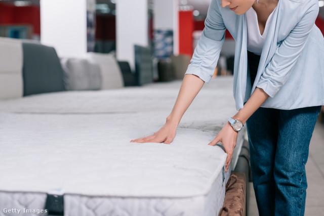 új matrac fogyás