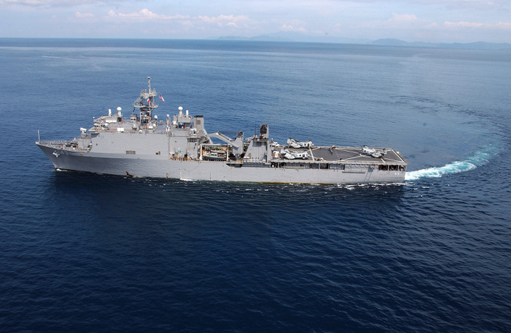 A USS Fort McHenry