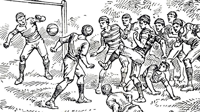 Angliában egy csomószor betiltották a focit