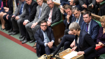 A brit képviselők szavaztak: nem akarnak rendezetlen brexitet