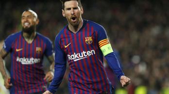 Messi: Ronaldónak mágikus estéje volt