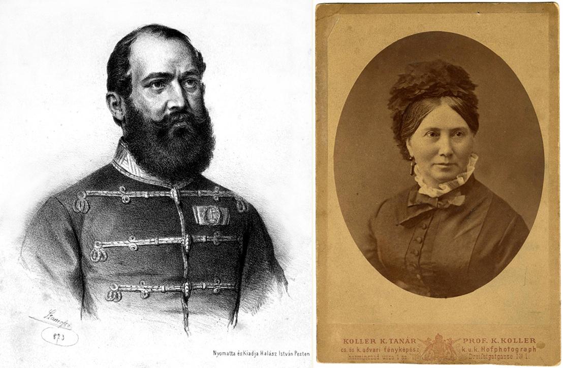 Damjanich János és Csernovics Emília