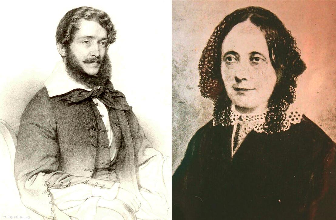 Kossuth Lajos és Meszlényi Teréz