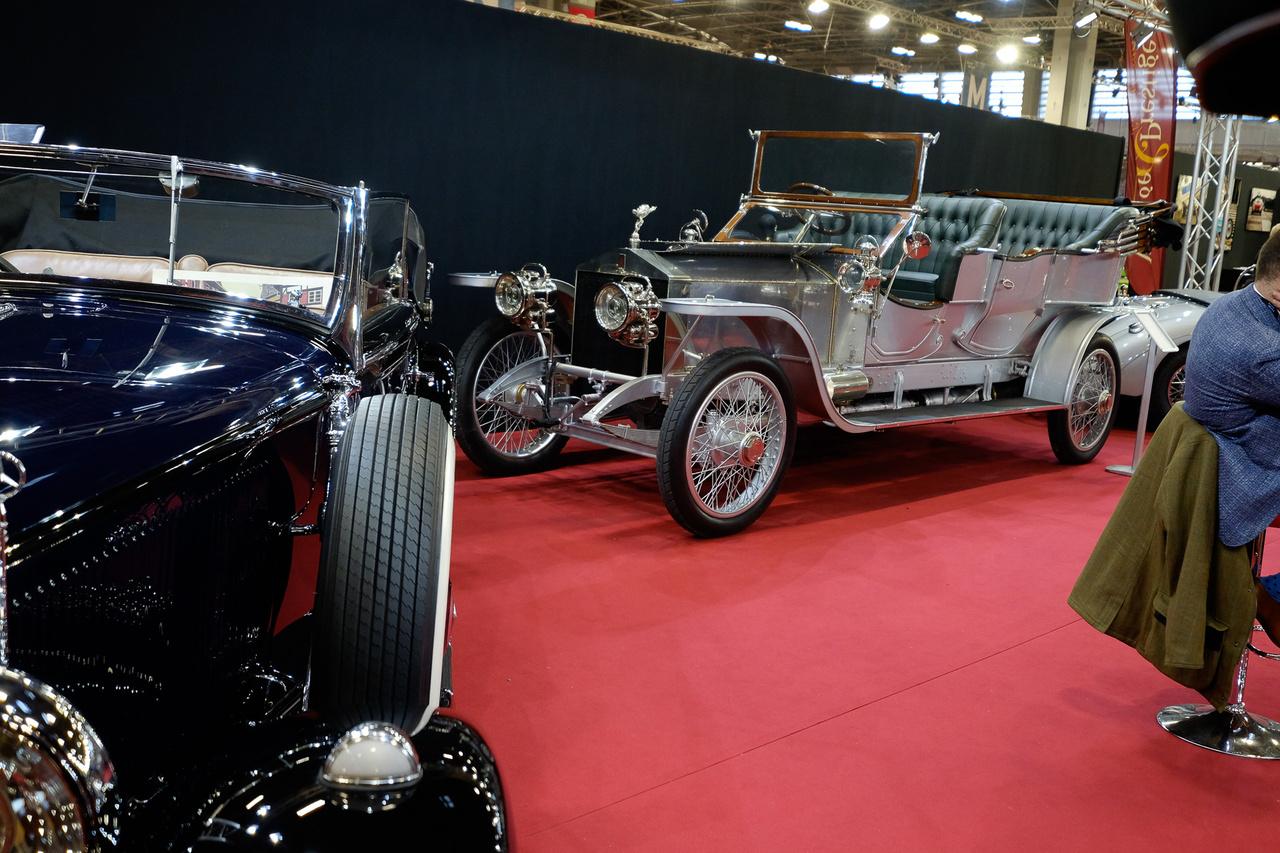 Ilyet se nagyon látni kiállításokon - a Rolls-Royce, amely megteremtette a cég legendáját, azaz egy Silver Ghost