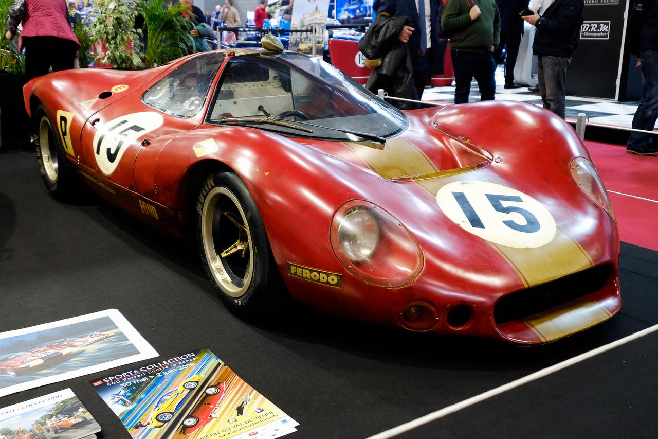 A Ford P68-as kódú autó akkor készült, amikor a versenyszabályzat szinte lehetetlenné tette a GT40-esek indulását a legtöbb futamon. Alan Mann csapata 1968-ra az új, háromliteres, V8-as DFV motor köré szabott egy rettenetesen áramvonalas karosszériát, de aerodinamikai hiányosságok és sorozatos műszaki hibák miatt sosem lett sikeres