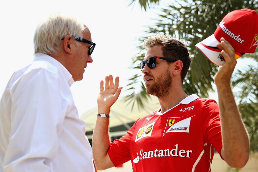 Sebastian Vettellel is szoros volt a kapcsolata.