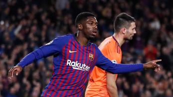 Dembele belesérült a góljába: 1 hónap