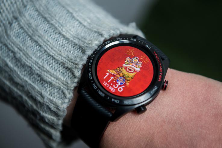 Íme a Honor Watch Magic kisebb, vékonyabb, jobban mutat a karon.