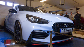 Totalcar Erőmérő: Hyundai i30 N Performance