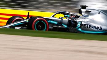 A Mercedes rettenetesen veri a mezőnyt Ausztráliában