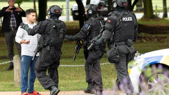 Terrortámadás Új-Zélandon, negyvenkilencen meghaltak