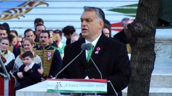 Tekintse meg Orbán Viktor március 15-i teljes beszédét!