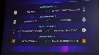 Barcelona–Manchester United a BL-negyeddöntőben