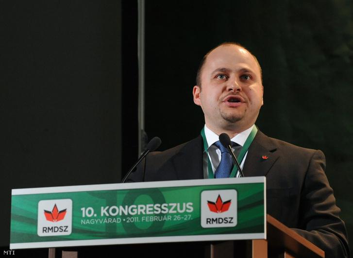 Olosz Gergely RMDSZ-es háromszéki képviselő