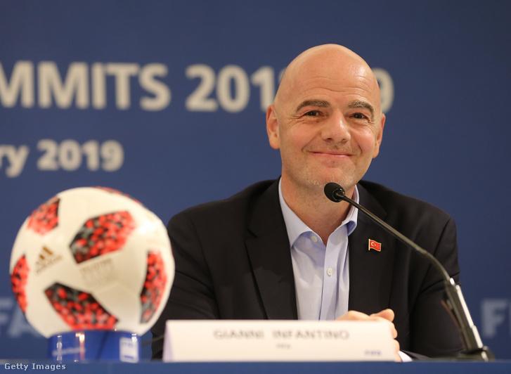 Gianni Infantino, a Nemzetközi Labdarúgó-szövetség, a FIFA elnöke