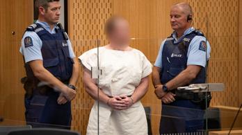 Már vádat is emeltek Brenton Tarrant ellen