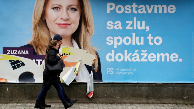 Néhány hét alatt ugrott az élre a szlovák elnökválasztás esélyese