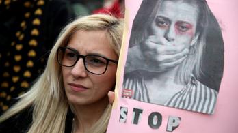 Több ezren tüntettek Zágrábban a családon belüli erőszak ellen