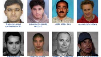 Jelenleg csak nyolcan vannak az FBI top 10-es körözési listáján