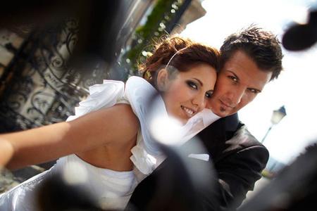 Helga és Attila esküvői fotója