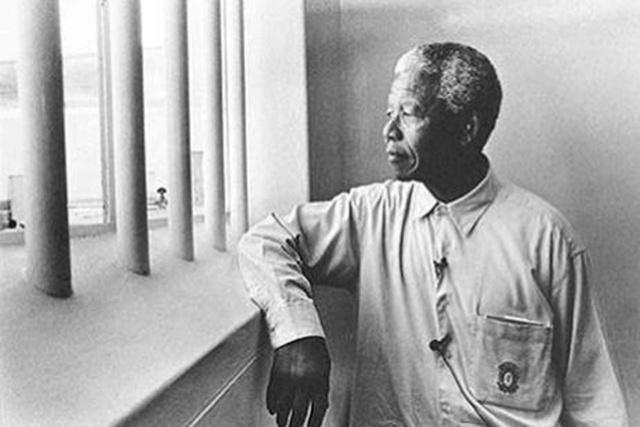 Mandela cellájában