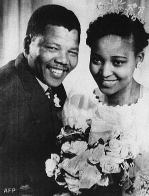 Nelson és Winnie Mandela