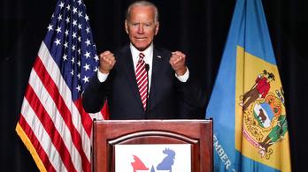 Joe Biden mintha bejelentkezett volna az elnökválasztásra