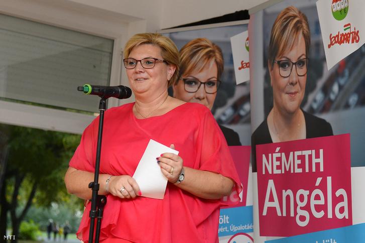 Németh Angéla 2018. szeptember 28-án.