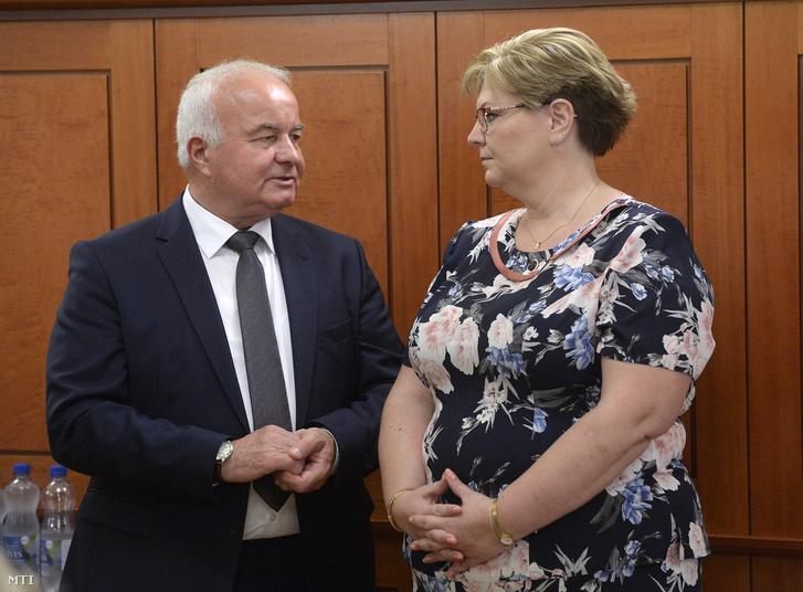 Németh Angéla és Hajdu László 2018. június 7-én.