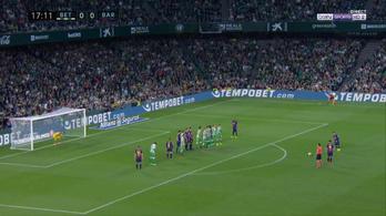 Messinek ez könnyebb volt, mint a 11-es, de a varázslat csak később jött