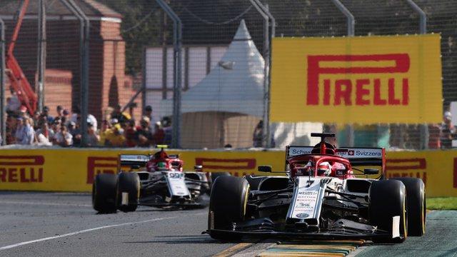 Vásott sisakfólia hátráltatta Räikkönent első alfás futamán