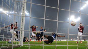 Milan-Inter 2-3, nagy derbi volt