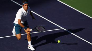 Nem jött össze az újabb Federer-rekord