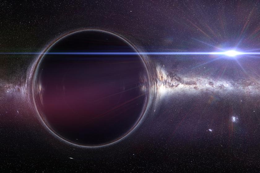 Most is jól észlelhetők a fekete lyukak, amelyek az ősrobbanás után keletkeztek