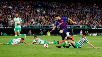 Suárez szólója káprázatos, de a Barca egy időre elveszthette