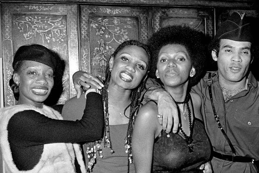 Maizie Williams, Marcia Barrett, Liz Mitchell and Bobby Farrell - azaz a Boney M. 1979-ben.