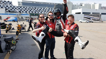 Győrfi 13. lett a Daytona 200 motorversenyen