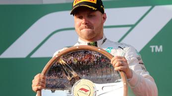A szakállas Bottasból előtört az állat, de mi lesz a Ferrarival?