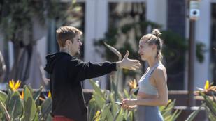 Justin Bieber valamin összeveszett Hailey Bieberrel
