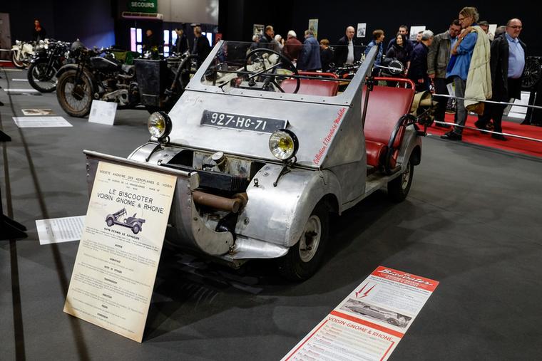 Igen, tudom, hogy ez a Totalbike, de a Le Biscooter már a nevében is robogó, a szerkezete pedig motoré, konkrétan Gnome-Rhone-é