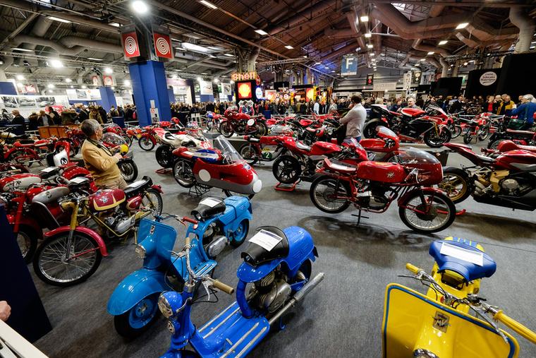 A gyűjtemény kicsi több mint a felét, 48 motort adtak végül el, 750 ezer euró összértékben