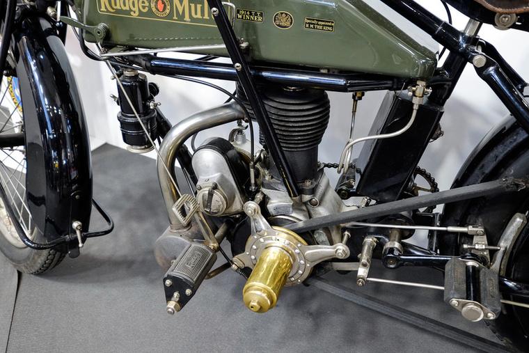 Rudge-ék nagy úttörők voltak motorok és erőátvitelek vonalán