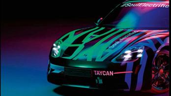 A Porsche is megmutatja a vilanyautóját