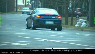 130-cal száguldozott Békéscsaba közepén egy BMW-s