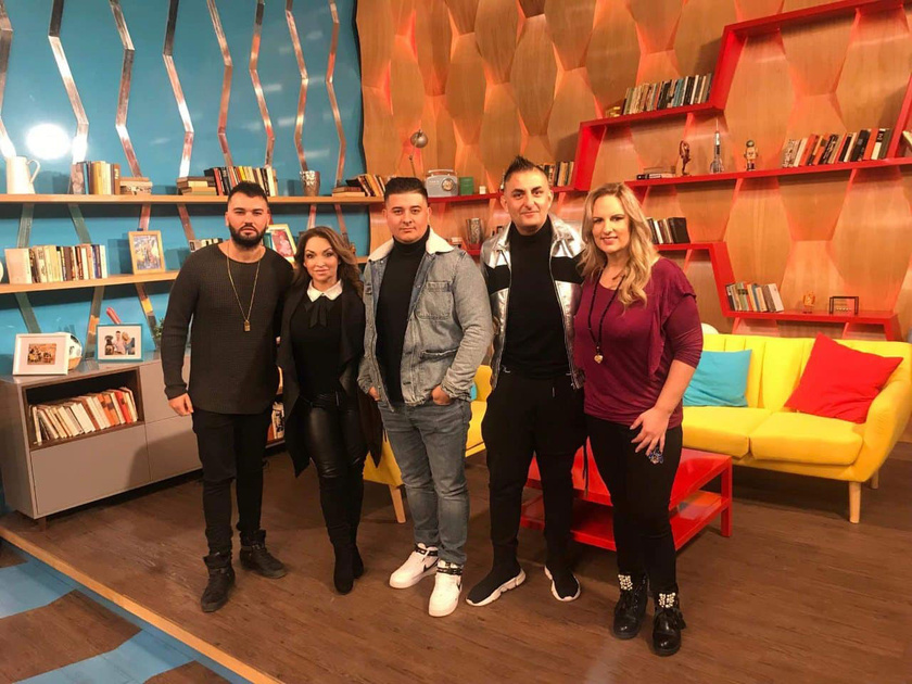 A Romantic együttes tagjai január közepén az RTL Klub Reggeli című műsorában.