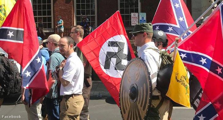 Charlottesville-i szélsőjobboldali tüntetés 2017-ben