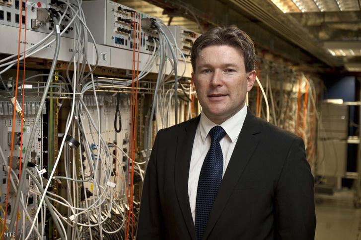Jakab Roland, a MI Koalíció elnöke, az Ericsson ügyvezető igazgatója.