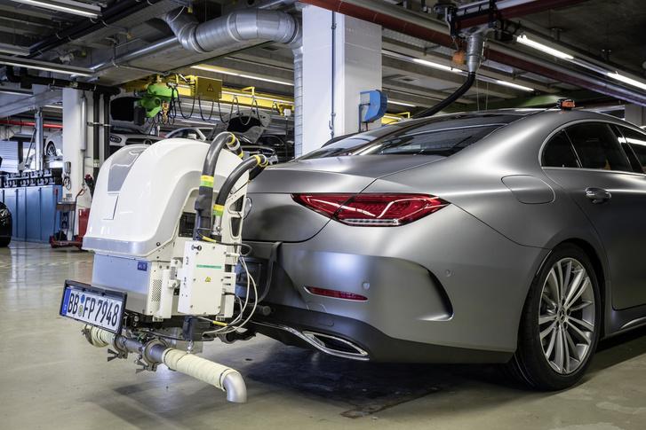 Mercedes WLTP teszt